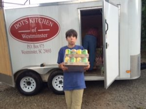 Boys Boarding School helps Dot's Kitchen